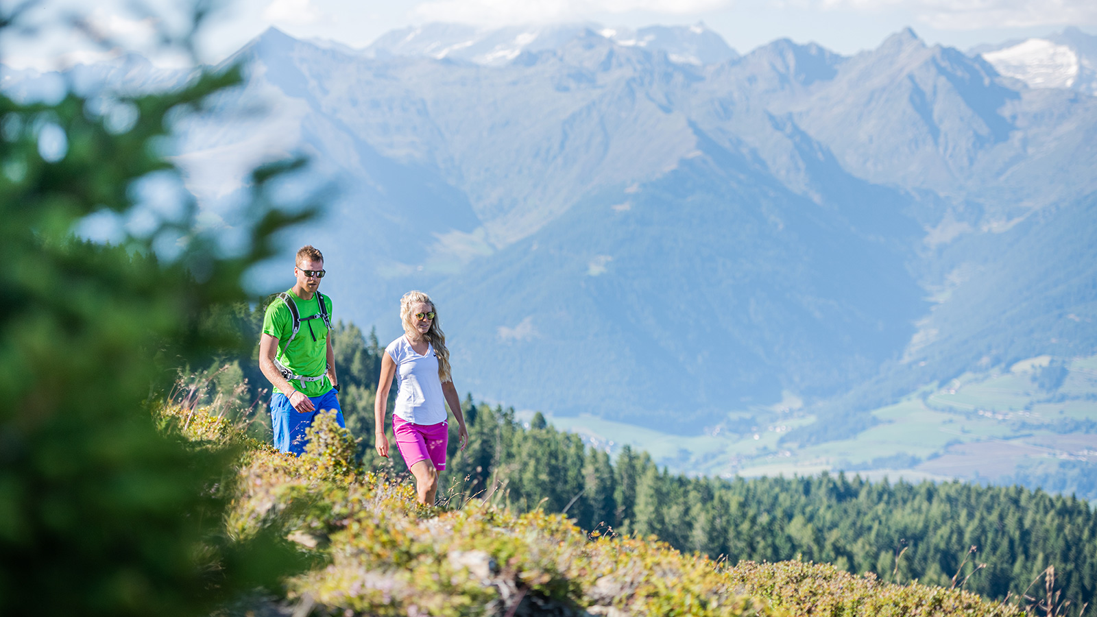 Hiking in the holiday region Kronplatz